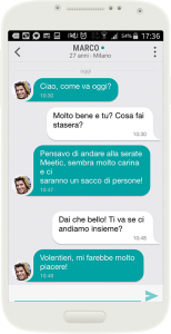 meetic chat mobile