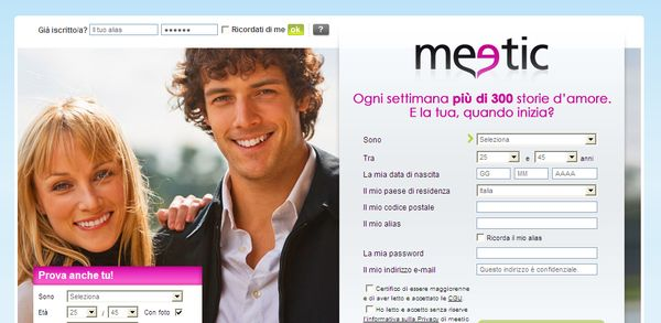 Touch meetic