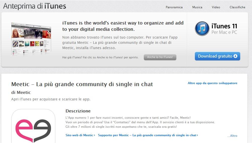 App di incontri gratuite per Apple